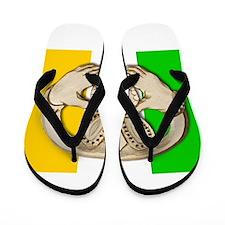 Irish Claddagh Flip Flops