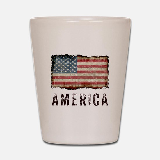 Vintage America Shot Glass