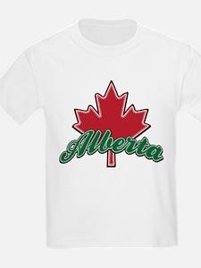 Alberta Maple Leaf T-Shirt