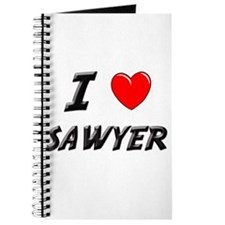 I LOVE SAWYER Journal