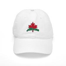 Alberta Maple Leaf Baseball Cap