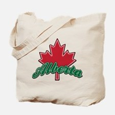 Alberta Maple Leaf Tote Bag