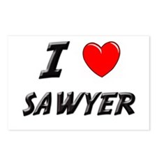 I LOVE SAWYER Postcards (Package of 8)