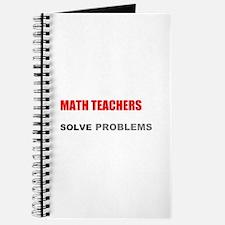 Math Teachers Solve Problems Journal