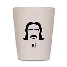 Al Swearengen Black Hirsute Shot Glass