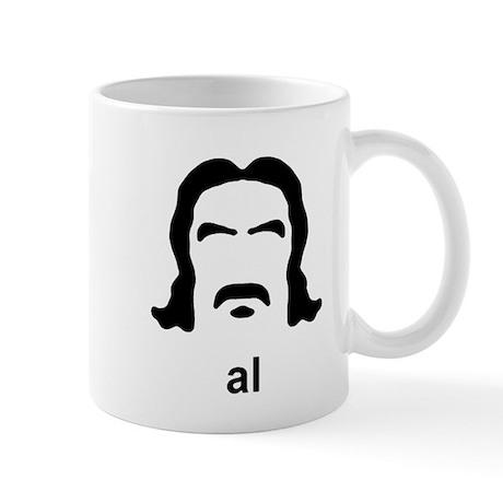 Al Swearengen Black Hirsute Mug
