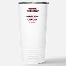School Sec. Duties Travel Mug