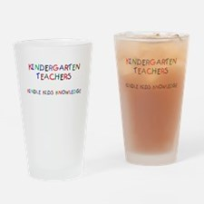 Kindergarten Teachers Pint Glass