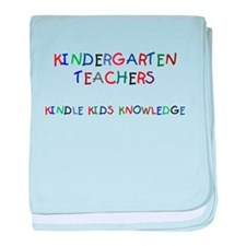 Kindergarten Teachers Infant Blanket