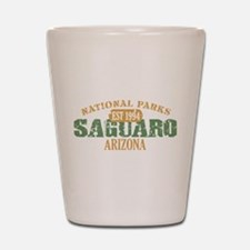 Saguaro National Park Arizona Shot Glass