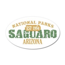 Saguaro National Park Arizona 38.5 x 24.5 Oval Wal