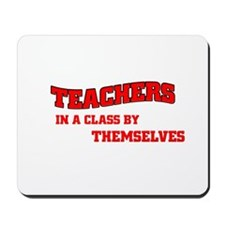 Teachers in a Class by Themse Mousepad