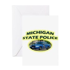 Michigan State Police Greeting Card