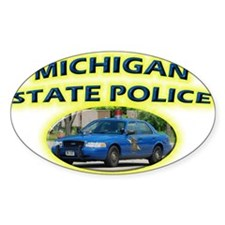 Michigan State Police Decal