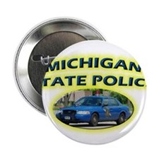 "Michigan State Police 2.25"" Button (100 pack)"