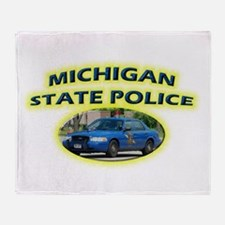 Michigan State Police Throw Blanket