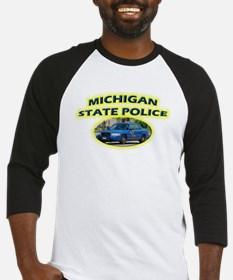 Michigan State Police Baseball Jersey