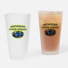 Michigan State Police Drinking Glass