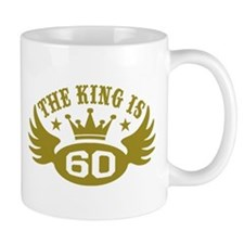 The King is 60 Small Mug