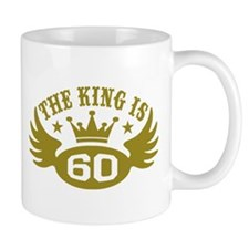 The King is 60 Small Mugs