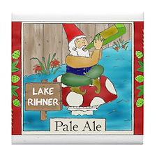 Lake Rihner Beer Tile Coaster