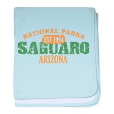 Saguaro National Park Arizona baby blanket