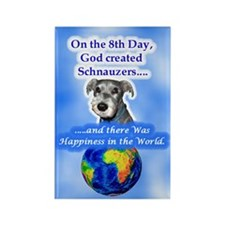 3-8th Day -Schnauzer Magnets
