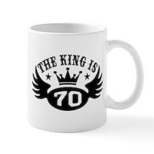 The King is 70 Mug