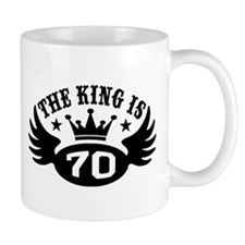 The King is 70 Small Mug