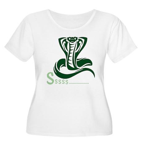 Makhan's Women's Plus Size Scoop Neck T-Shirt