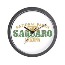 Saguaro National Park Arizona Wall Clock