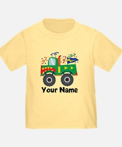 Personalized 1st Birthday Monster Truck T