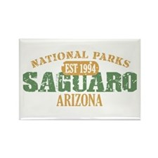 Saguaro National Park Arizona Rectangle Magnet (10