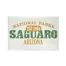 Saguaro National Park Arizona Rectangle Magnet