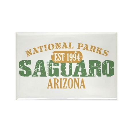Saguaro National Park Arizona Rectangle Magnet