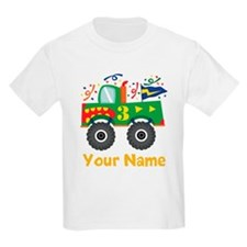 Personalized 3rd Birthday Monster Truck T-Shirt