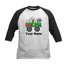 Personalized 4th Birthday Monster Truck Tee