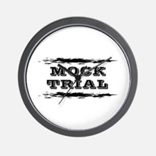 Mock Trial Wall Clock