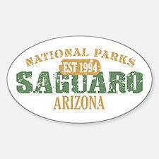 Saguaro National Park Arizona Sticker (Oval)