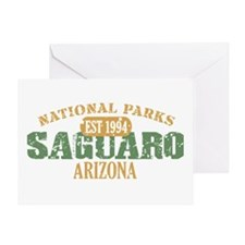 Saguaro National Park Arizona Greeting Card