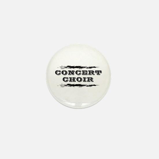 Concert Choir Mini Button