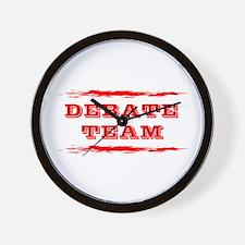 Debate Team Wall Clock