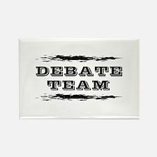 Debate Team Rectangle Magnet