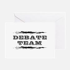 Debate Team Greeting Card