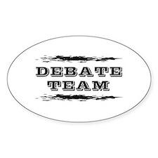 Debate Team Decal