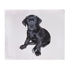 Mastiff Puppy Throw Blanket