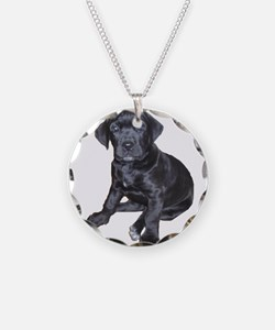 Mastiff Puppy Necklace