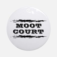Moot Court Ornament (Round)