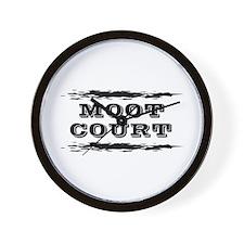 Moot Court Wall Clock