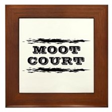 Moot Court Framed Tile